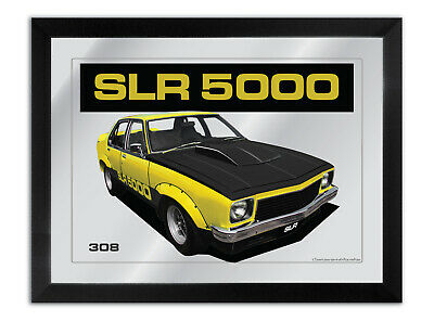Bar Mirror Artwork Suit Yellow Holden Torana Slr 5000 Other Colours Available