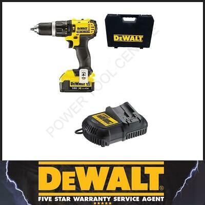 DeWalt Reconitioned DCD785M1 Cordless 2 Speed Combi Drill 18v 1 x 4.0Ah Li-Ion