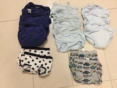 18 brand new training pants and nappy covers Baby Boys