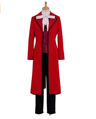 Black Butler Grell Sutcliff uniform complete Cosplay Costume Set custom made HH
