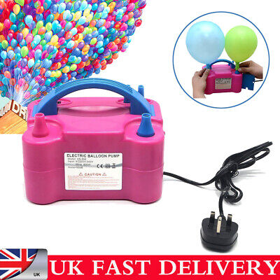 600W High Power Portable 600W Electric Air Blower Party Balloon Pump Inflator