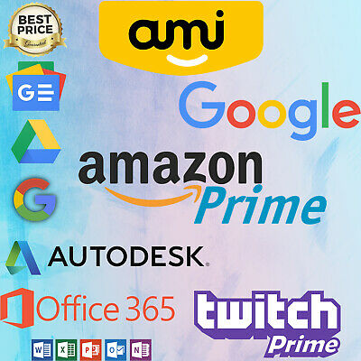 Edu eMail with: Amazon Prime,Twitch Prime,Office 365 ( 80£ worth) and Gdrive