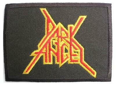 DEATH ANGEL WOVEN Rock Band Heavy Thrash Metal Music ironsew on patch badgeA817