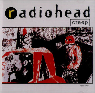 "Radiohead Creep CD single (CD5 / 5"") USA promo DPRO-79684 CAPITOL 1992"