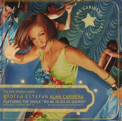 Gloria Estefan Alma Caribena CD album (CDLP) USA promo ESK12780 EPIC