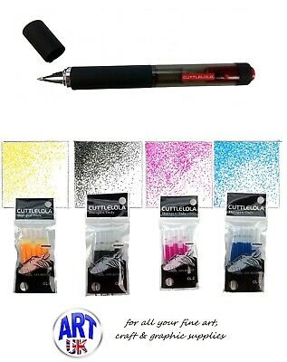 Cuttlelola Dotspen - Rechargable Multi-speed Artists Electric Drawing Pen & Ink