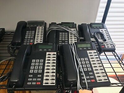 Small Business Toshiba Phone System - WORKS GREAT!