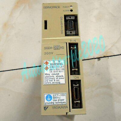 1pc used Yaskawa servo drive SGDA-02AS fully tested