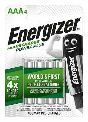 Piles AAA ENERGIZER rechargeables accu Power Plus HR03 700 mAh PRIX DEGRESSIF