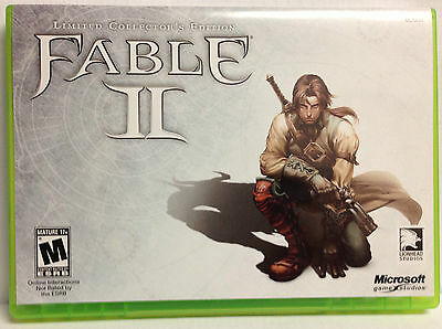 Fable II (Limited Edition) Xbox 360 Original Replacement Case--NO GAME INCLUDED