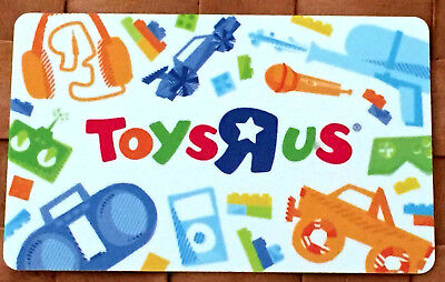 Toys R Us gift card unscratched New No Value BILINGUAL rechargeable