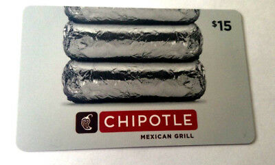Chipotle no value collectible gift card mint rechargeable