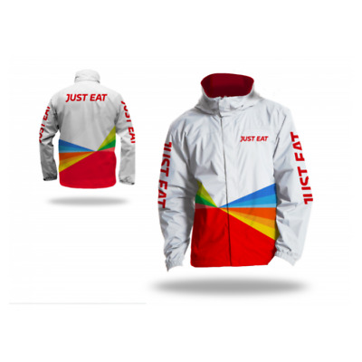BNWT - Just Eat Delivery Courier Waterproof Jacket - Size Large - Men or Women