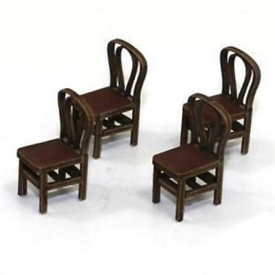 4Ground Furniture 28mm Bentwood Back Chair - Medium Wood Pack MINT