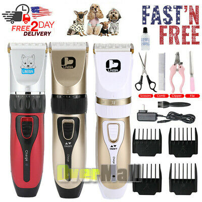 Pet Professional Dog Grooming Clippers Kit Set For Dog Cat Hair Trimmer Groomer