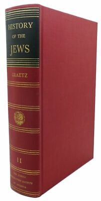 Heinrich Graetz HISTORY OF THE JEWS :  Vintage Copy