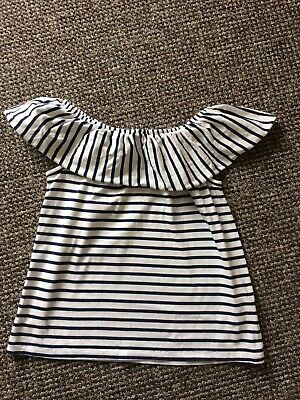 Next Girls striped summer top Age 4 Years
