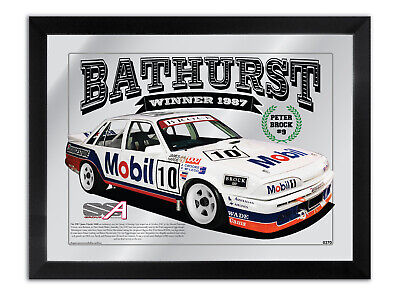 Bar Mirror Bathurst Winner Suit 1987 Peter Brock Hdt Vl Commodore Collection