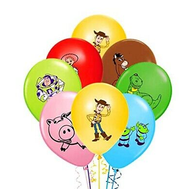 "10 X 12"" TOY STORY Character Latex Balloons Party Decoration - Birthday Party"