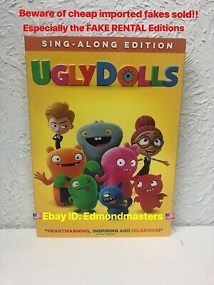 UglyDolls 2019 DVD Brand New Authentic (BEWARE OF CHEAP FAKES SOLD)