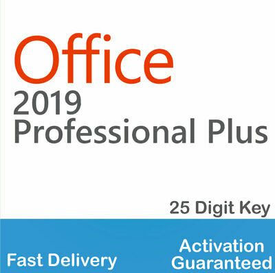 Microsoft Office 2019 Pro Plus License Key for PC