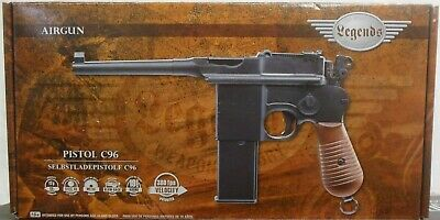LEGENDS C96 CO2 Semiauto Blowback BB Pistol 19rd Mag - 0 177 cal