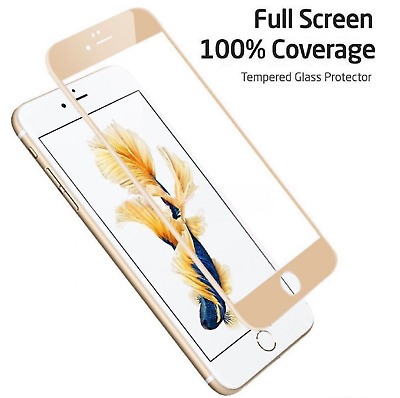 3D Full Coverage Tempered Glass Screen Protector Cover For iPhone 6 6S 7 8 Plus