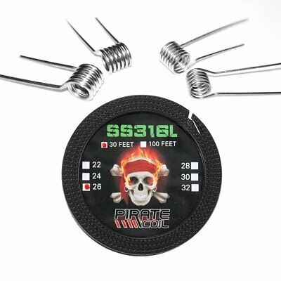 DIY Coils Kit 316L Stainless Steel for Craft Hobby Use Household Wire Set H*