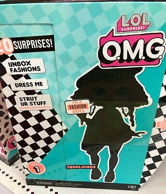 LOL Surprise! OMG Fashion Doll NEONLICIOUS L.O.L. Series 1 NEW IN BOX IN HAND