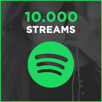10000 SPOTIFY PLAYS / Streams aus DE oder EU