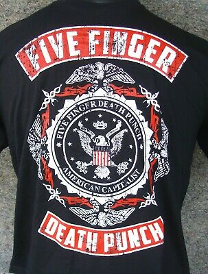 Five Finger Death Punch - quality screen printed t-shirt sizes (S-M-XL)