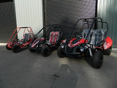 NEW QUADZILLA JUNIOR WOLF BUGGYS  ( childs off road buggies and quad bikes
