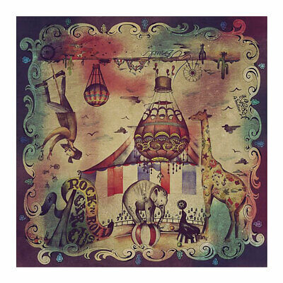 DMD Circus Cotton & Silk Scarf - 135 X 135 cm