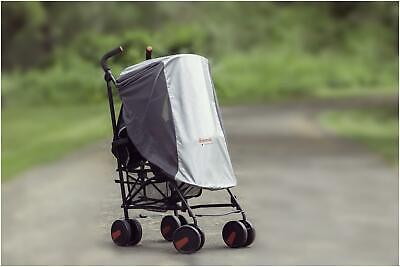 Diono SUN AND INSECT NET PLUS Baby Stroller Car Seat Accessory BN