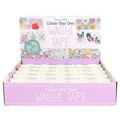Washi Tape Box Colour Your Own (dcwtb023)