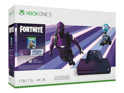 Console Microsoft Xbox one s - fortnite battle royale special edition bundle