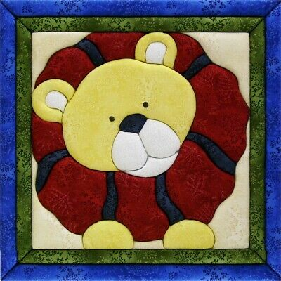 Quilt-magic No Sew Wall Hanging Kit-lion