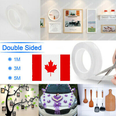 Magic Double-sided Adhesive Tape Clear Washable Traceless Nano Invisible Gel-WI