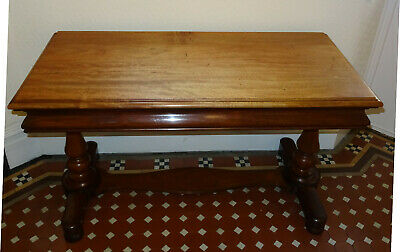 Large Elegant Antique Victorian Mahogany Hall / Sitting Room  Serving Side Table
