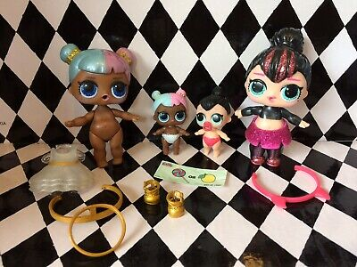 Lol Surprise Doll Glam Glitter - Sugar And Spice With Lil Sisters