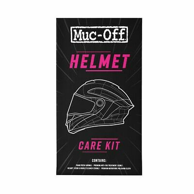 Muc-off Motorcycle Motorbike Bike Helmet Care Cleaning Maintenance Gift Kit M615