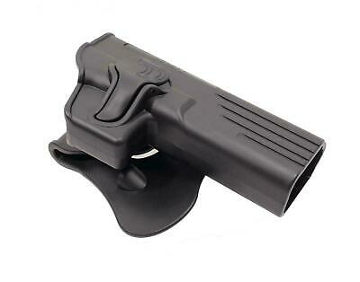 Amomax Airsoft Retention Holster G-Series G34 Black R/H #G34G2 Green Gas bb's