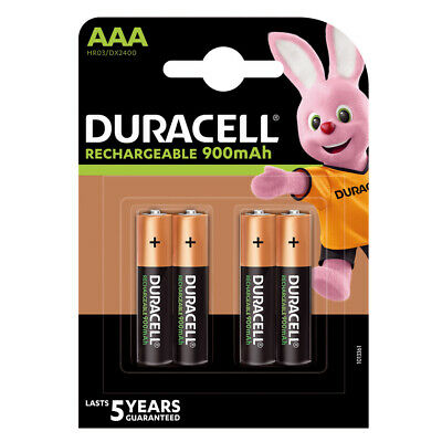 Piles AAA DURACELL rechargeables HR03 900 mAh  ** PRIX DEGRESSIF **