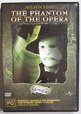 The Phantom Of The Opera (Nelson Eddy) DVD in LIKE NEW condition (Region 2/4)