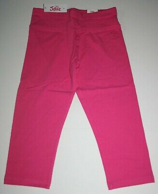 New Justice Leggings Girls 12  year Stretch Soft Pants Active Crop Pink