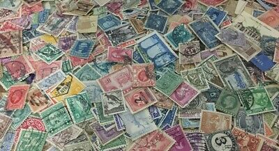 BULK Lot of 150 + Mixed World Stamps - Good Mix w FREE POSTAGE in Australia