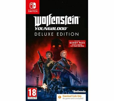 NINTENDO SWITCH Wolfenstein: Youngblood (download) - Currys
