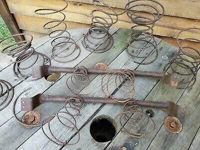 Lot of 10 Vintage Hourglass & Tornado Bed Springs Mixed Rusty Steampunk Parts