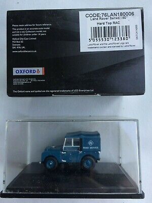 various new models but scruffy boxes Land rover die cast models Oxford 1:76