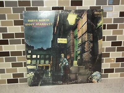 David Bowie The Rise and Fall  Ziggy Stardust LP Vinyl Turntable Record LSP-4702